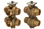 VWG41.20-0.25-1.0 6-ходовой регулирующий шаровой клапан SIEMENS